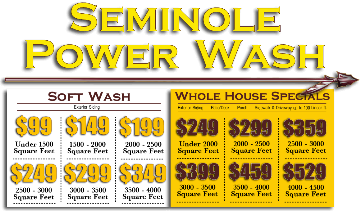 Seminole Power Wash Special Offers